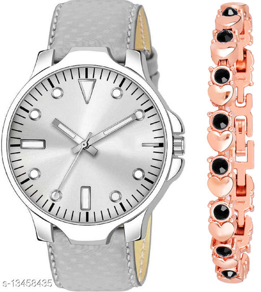 K483 & J20 new Attrective Two Watches combo For Men & Women Bracelet