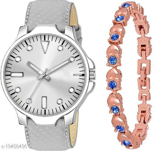 K483 & J10 new Attrective Two Watches combo For Men & Women Bracelet