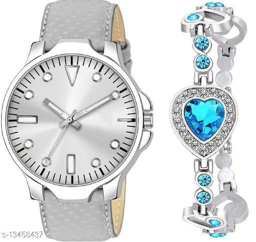 K483 & J7 new Attrective Two Watches combo For Men & Women Bracelet