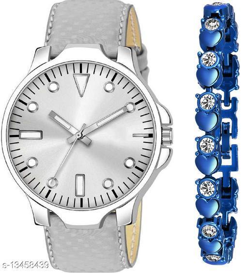 K483 & J17 new Attrective Two Watches combo For Men & Women Bracelet