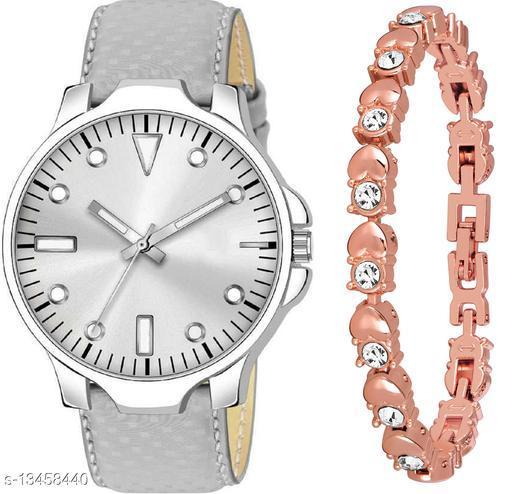 K483 & J9 new Attrective Two Watches combo For Men & Women Bracelet