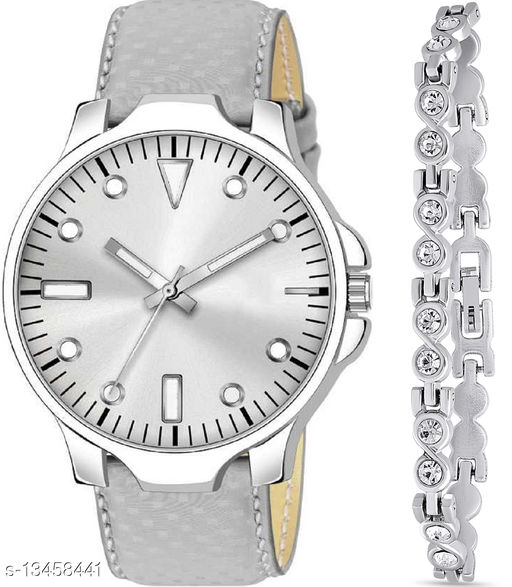 K483 & J2 new Attrective Two Watches combo For Men & Women Bracelet
