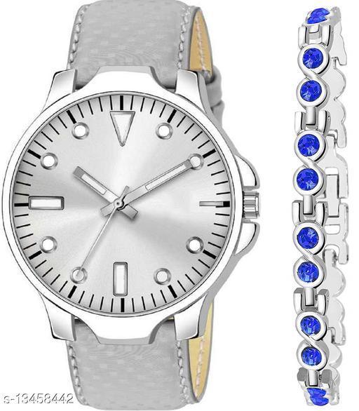 K483 & J1 new Attrective Two Watches combo For Men & Women Bracelet