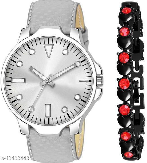 K483 & J16 new Attrective Two Watches combo For Men & Women Bracelet