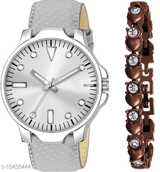 K483 & J15 new Attrective Two Watches combo For Men & Women Bracelet