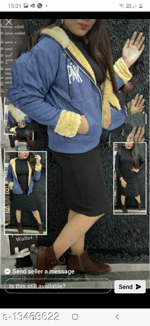 Fancy Graceful Women Jacket