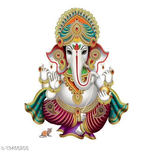 Masstone Lord Ganesha Religious God Wall Sticker