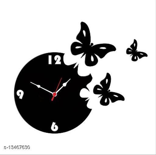 Stylish Wood Wall Clock