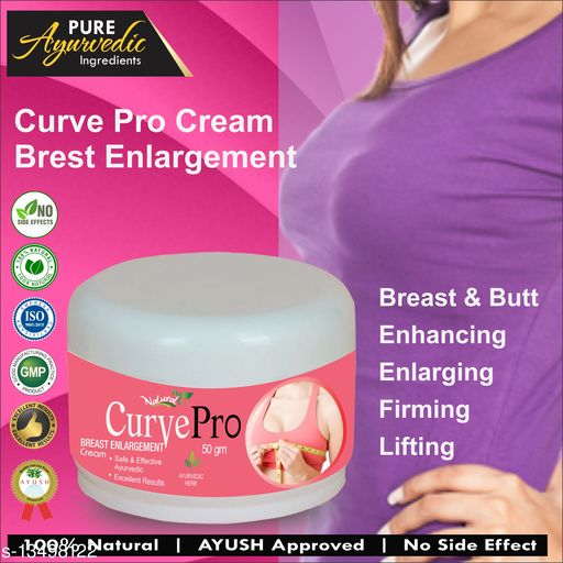 Breast Creams Curve Pro Herbal Cream For Breast Enlargement 100% Ayurvedic  Type: Cream Multipack: 1 Capacity;50 gm Country of Origin: India Sizes Available: Free Size    Catalog Name: Professional Perfect Breast Enlargement Cream CatalogID_2652985 C164-SC2012 Code: 054-13498122-