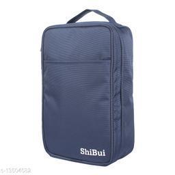 SHIBUI Multi-Purpose Portable Travelling Shoe Holder Storage Bag Travel Footwear Organiser Pouch Kit, 1- Piece
