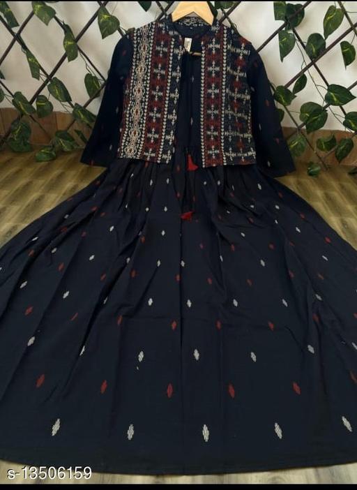 Women's Cotton Kurta with jacket