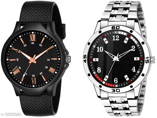 K513 & K63 Combo Of Two Exlusive Watches For Men & Men
