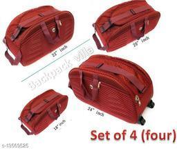 Trendy Men's Multipack Red Duffel Bags