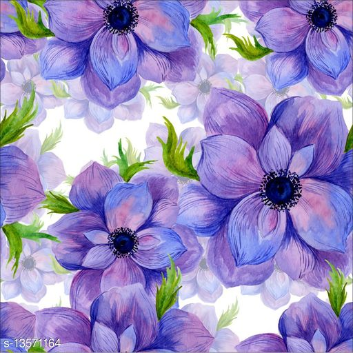WallDaddy Self Adhesive Wallpaper Design Jaamuni Flower Large (300x40)CM For Bedroom/Drawingroom/Kitchen/Office/Door/Almira Walls