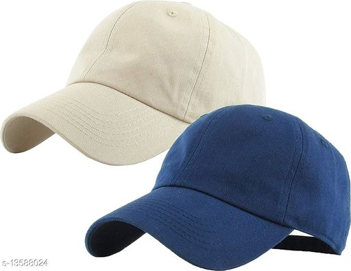 Stylish Men's Combo Navy Blue Caps