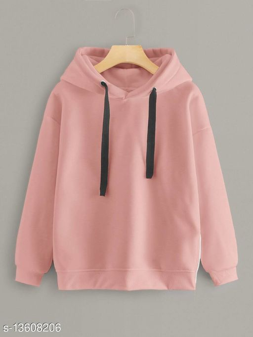 Fabrange Dusty Pink Hooded  Sweatshirt