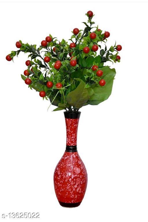 WOODEN FLOWER VASE/ POT 5X12X5 INCH
