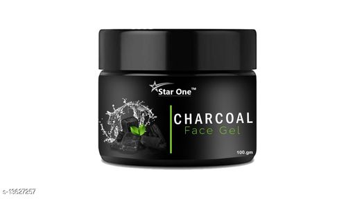Charcoal face gel@201