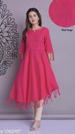Yash Gallery Stylish Fashionable Cotton  Slub