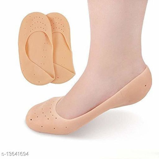 Ni&Mee Anti Crack Full Length Silicone Foot Protector Moisturizing Socks for Foot-Care and Heel Cracks,socks for cracked feet,heel pad for heel pain