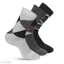 WISHLAND™ Men's Wool & Spandex Socks (Pack of 3)