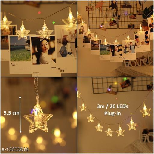 20 Star Photo Clip LED String Light