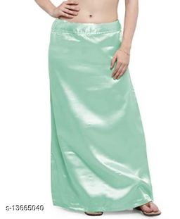 Angloindian Satin petticoat with Cotton lining