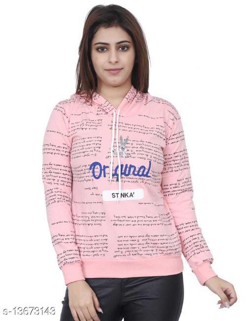 Trendy Women Printed Sweatshirt