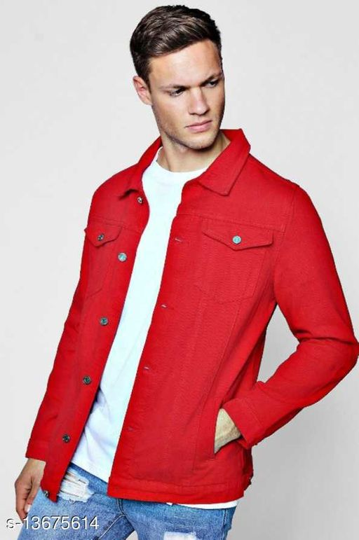 Full Sleeve Washed Men Denim Jacket