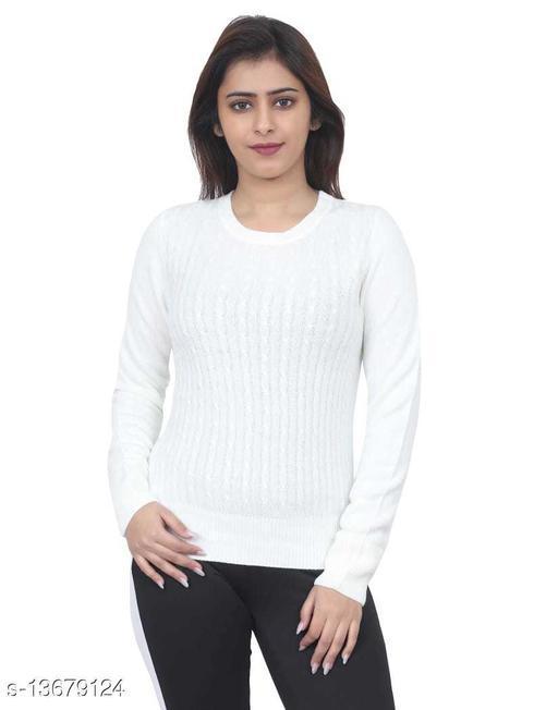 Trendy Women Stripped Sweater