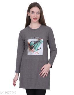 Trendy Women Fancy Long Sweatshirt