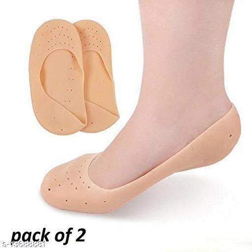 anti crack full heel socks-(pack of 2)