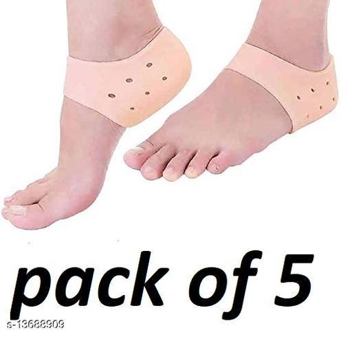 best anti crack half heel socks(pack of 5)