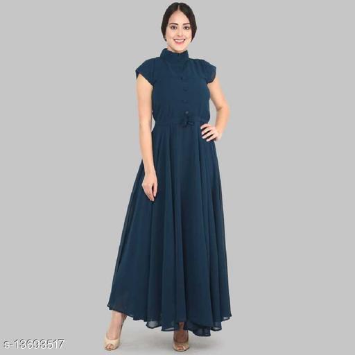 Raiyani Fashion Stylish Georgette Stitched Anarkali Gown
