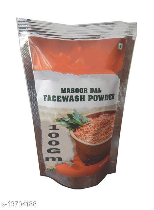 Priyam herbals masoor dal face wash powder