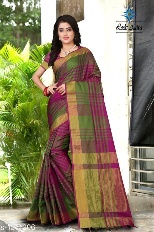 Attractive Cotton Silk Saree