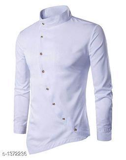 Satin Cotton Solid Men's Kurta