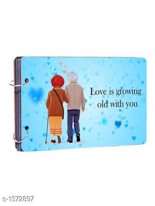"""Shubham """"Love is growing old"""" valentines day gift"""