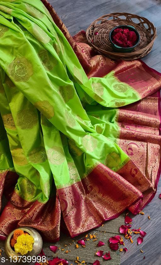 Trendy Banarasi Silk Saree