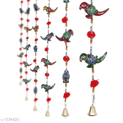 Toran & Wall Hangings Classy Stylish Home Door Hanging Decors  *Material* Ceramic  *Size* Free Size  *Description* It Has 2 Pieces Of Door Hanging  *Sizes Available* Free Size *    Catalog Name: Traditional Classy Stylish Home Door Hanging Decors Vol 4 CatalogID_177478 C128-SC1318 Code: 803-1374420-
