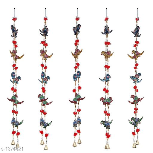 Toran & Wall Hangings Classy Stylish Home Door Hanging Decors  *Material* Ceramic  *Size* Free Size  *Description* It Has 2 Pieces Of Door Hanging  *Sizes Available* Free Size *    Catalog Name: Traditional Classy Stylish Home Door Hanging Decors Vol 4 CatalogID_177478 C128-SC1318 Code: 803-1374421-