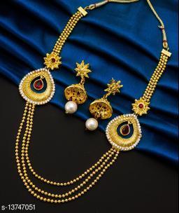 Femme Embellished Alloy Jewellery Set For Women