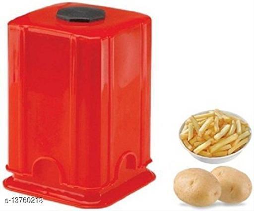 INFO TECH Plastic Potato Chipser French Fries, Potato Finger Chips Cutter