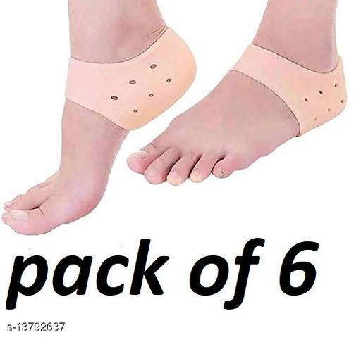 best anti crack half heel socks(pack of 6)