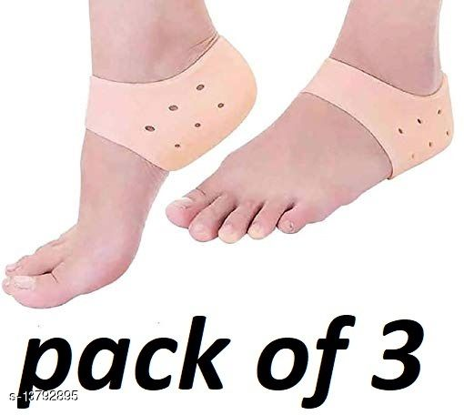 best anti crack half heel socks(pack of 3)