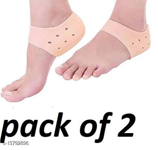 best anti crack half heel socks(pack of 2)
