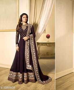 Attractive Georgette Embroidery Suits & Dress Material