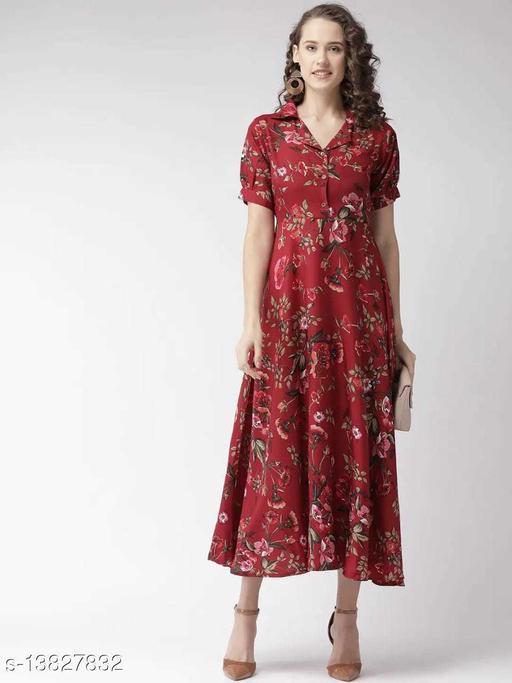 Trendy Fashionable Printed Women Dresses