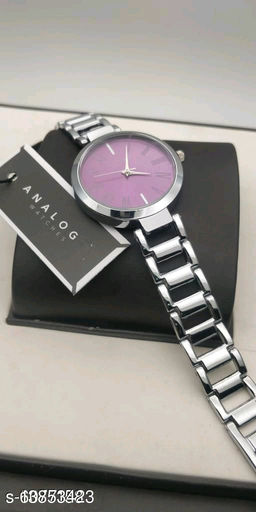 Miss Perfect Women Purple Roman Dial Analog Girls And Women Watch