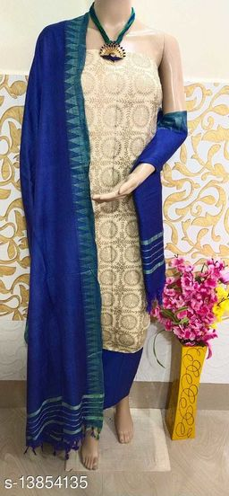 Women Cotton Blend A-line Off-Shoulder Kurti